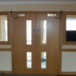 New doors in Care Home
