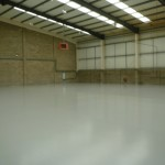 New floor in Warehouse