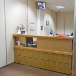 new reception area